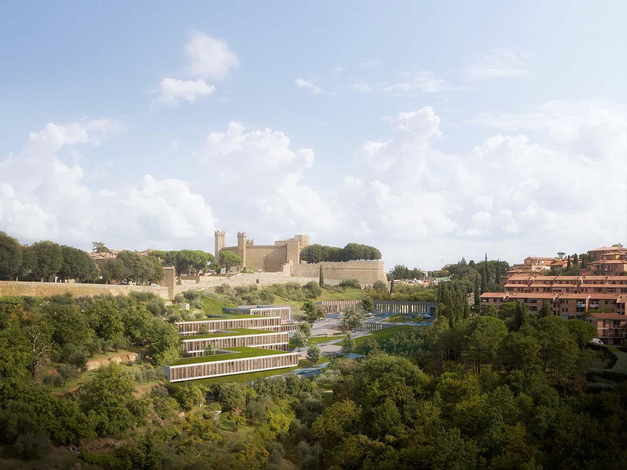 School complex in Montalcino